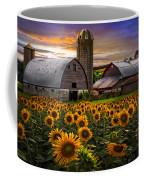 Evening Sunflowers Coffee Mug