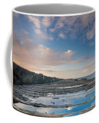 Evening View Down The South Jetty Coffee Mug