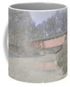 Everett Covered Bridge Coffee Mug by Jack R Perry