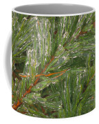 Evergreen Covered In Ice Coffee Mug