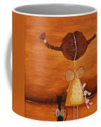 Every Angel Needs A Bunny Coffee Mug