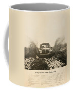 Every New One Comes Slightly Used - Vintage Volkswagen Advert Coffee Mug by Georgia Fowler