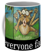 Everyone Farts Poster Coffee Mug