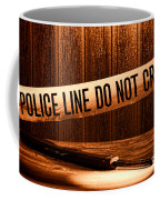 Evidence Coffee Mug by Olivier Le Queinec