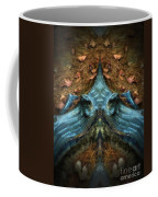 Evil Autumn Tree Roots Coffee Mug