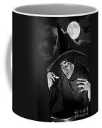 Evil Witch Under A Full Moon Coffee Mug