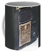 Evita Burial Vault Coffee Mug