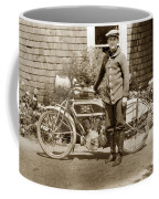 Excalibur Motorcycle California Circa 1915 Coffee Mug