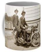 Excalibur Motorcycle Circa 1920 Coffee Mug
