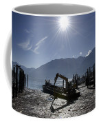 Excavator Clean A Harbor Coffee Mug