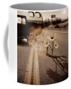 Exhausting Pipe Flowers Coffee Mug
