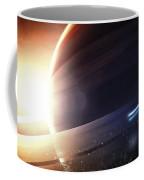 Expedition To A Saturn-like Planet Coffee Mug