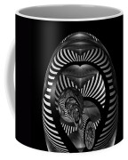 Exploration Into The Unknown Bw Coffee Mug
