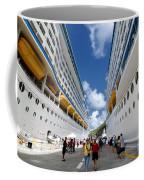 Explorer Of The Seas And Adventure Of The Seas Coffee Mug