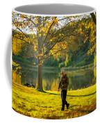 Exploring Autumn Light Coffee Mug by Steve Harrington