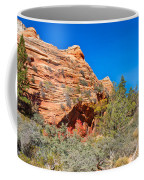 Exploring The Upper Plateau Of Zion Coffee Mug