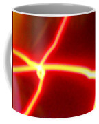 Explosive Gold Fusion In The Cosmos Coffee Mug