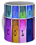 Express Color Coffee Mug