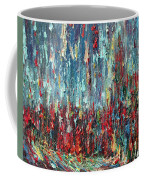 Expressionist Cat Oil Painting.1 Coffee Mug