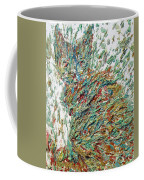 Expressionist Cat Oil Painting.2 Coffee Mug