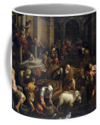 Expulsion Of Merchants From The Temple Coffee Mug