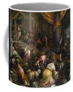 Expulsion Of The Merchants From The Temple Coffee Mug