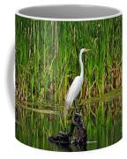 Exquisite Egret Coffee Mug