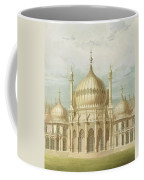 Exterior Of The Saloon From Views Of The Royal Pavilion Coffee Mug by John Nash