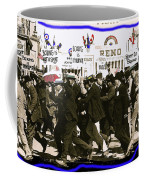 Extras Racing To The Boxing Arena The Great White Hope Set Globe Arizona 1969-2009 Coffee Mug