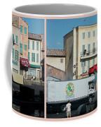 Extreme Stunt Show Walt Disney World 4 Panel Composite Coffee Mug