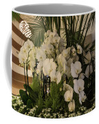 Exuberant Orchid Display Coffee Mug
