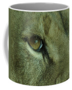Eye Of The Lion Coffee Mug