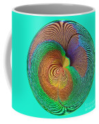 Eye Of The Peacock Orb Coffee Mug