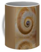 Eye Of The Snail Coffee Mug by Susan Candelario