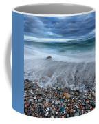Eye Of The Storm Square Coffee Mug