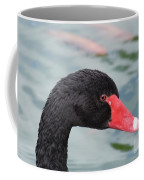 Eye Of The Swan Coffee Mug