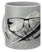 Eyeglasses And Money Coffee Mug