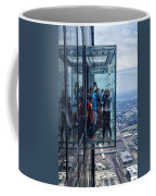 Eyes Down From The 103rd Floor Neighbors Coffee Mug