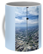 Eyes Down From The 103rd Floor The View From The Ledge Coffee Mug