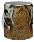 Eyes Of The Tiger Coffee Mug by Sandy Keeton