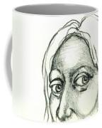 Eyes - The Sketchbook Series Coffee Mug by Michelle Calkins