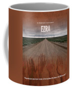 Ezra Books Of The Bible Series Old Testament Minimal Poster Art Number 15 Coffee Mug