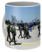 F-15 Pilots Of The 48th Fighter Wing Coffee Mug