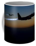 F15e Strike Eagle  Coffee Mug