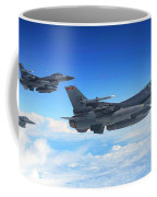 F16 Fighting Falcons Coffee Mug