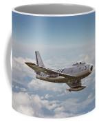F86 Sabre Coffee Mug by Pat Speirs