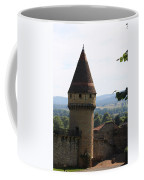 Fabry Tower - Cluny - Burgundy Coffee Mug