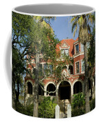 Facade Of A Museum, Moody Mansion Coffee Mug