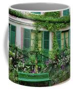Facade Of Claude Monets House, Giverny Coffee Mug