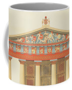 Facade Of The Temple Of Jupiter Coffee Mug